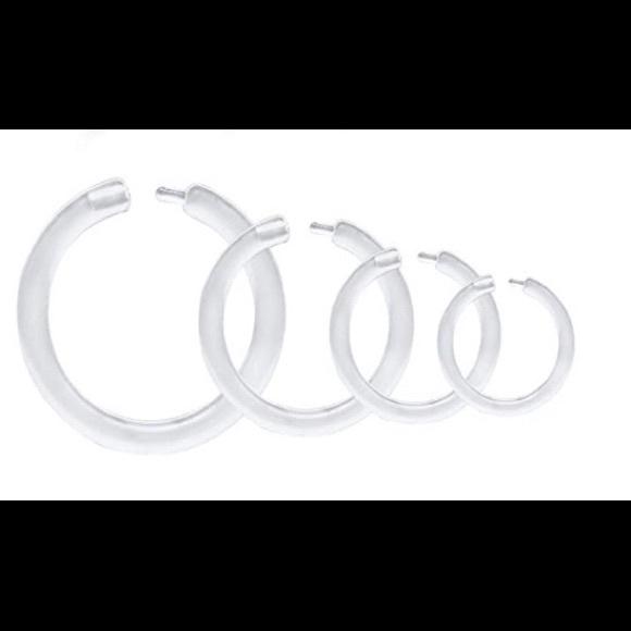 Accessories - Clear nose ring pack